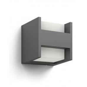 Arbour, LED, Höhe 13 cm, anthrazit