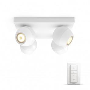 Buckram, LED, 4flg. 1000lm, weiß, inkl. Dimmschalter