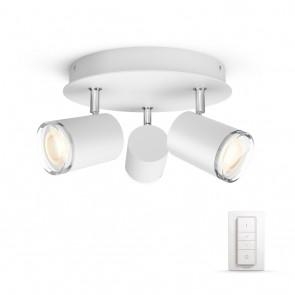 Adore, LED, rund, Weiß 3flg. White Ambiance, 750lm, inkl. Dimmschalter