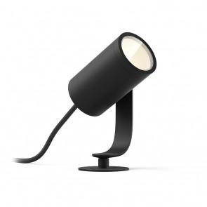 Lily, LED, Schwarz 1flg. WACA, 640lm, Basis-Set, IP65