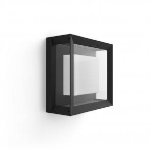 White & Col. Amb. Econic schwarz 1150lm quadratisch