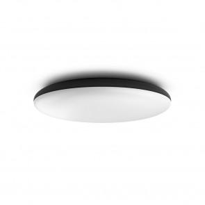 White Amb. Cher Ø 47,5 cm schwarz 1-flammig rund