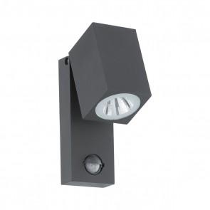 Sakeda, LED, Bewegungsmelder, Anthrazit