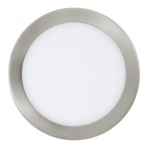Fueva, LED, Ø 22,5 cm, Smart Home, nickel-matt