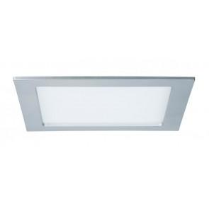 Quality EBL Set Panel eckig LED 1x18W 4000K 230V 220x220mm Chr m/Kunststoff