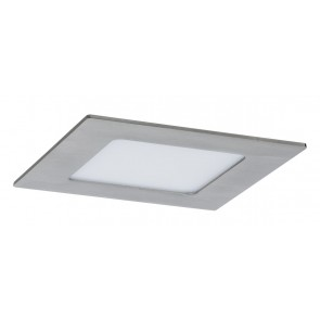 Premium EBL Set Panel eckig LED 1x6,5W 2700K 7VA 230V/350mA 120mm Eisen geb