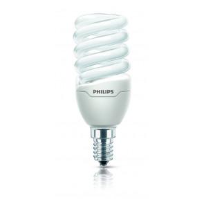Energiesparlampe Tornado Mini, E14, warmweiß, 8000 Std, 12W