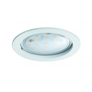 Coin klar rund starr LED 1x14W 2700K 230V Weiß