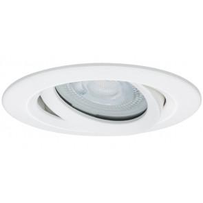 Nova LED, IP65, schwenkbar, 7W, GU10, weiß-matt