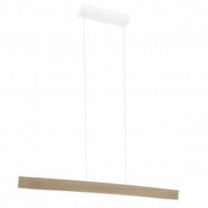 Fornes, LED, Länge 97 cm, eiche-natur