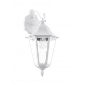 Navedo herabhängend Höhe 47,5 cm weiß 1-flammig eckig