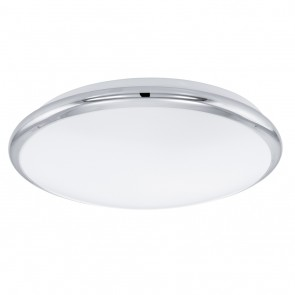 Manilva, LED,  Ø 30 cm, chromfarben