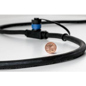 Plug & Shine Höhe 31 cm anthrazit 1-flammig rund