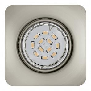 Peneto, 8,7 x 8,7 cm, inkl LED, nickel matt