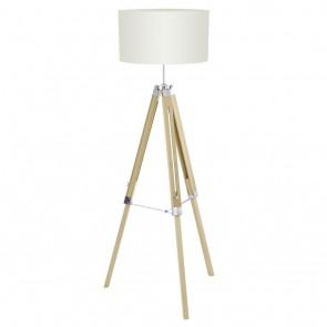 Lantada, Holz- Stahl, Höhe max 150 cm, beige