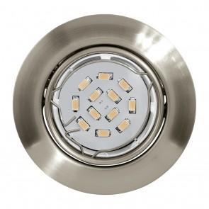 Peneto, Ø 8,7 cm, 3er-Set, inkl LED, nickel-matt
