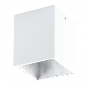 Polasso, LED, 10 x 10 cm, weiß-silber