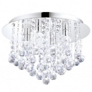 Almonte, Ø 35 cm, IP44, Glaskristalle, inkl LED