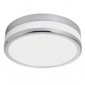 LED Palermo, Ø 22,5 cm, IP44, chromfarben