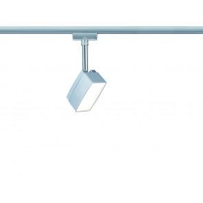 URail System Pedal Höhe 17,5 cm chrom 1-flammig eckig