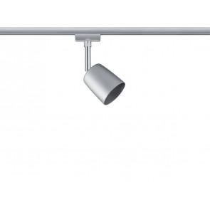 URail System Spot Cover, max 1x10W GU10 Chrom matt/Chrom 230V Metall