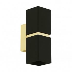 Passa, LED, Höhe 17 cm, schwarz-gold