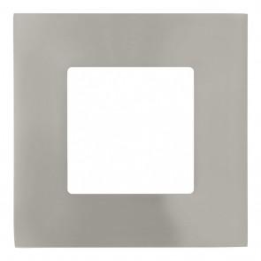 Fueva 1, LED, 8,5 x 8,5 cm, nickel-matt