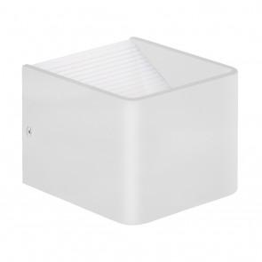 Sania 3, LED, 10 x 10 cm, weiß