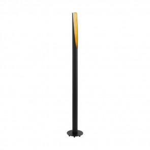 Barbotto, GU10, Höhe 137 cm, mit Schalter, schwarz
