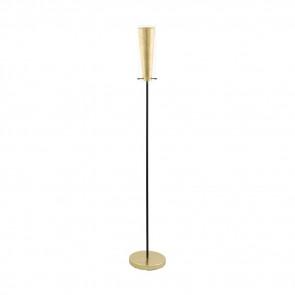 Pinto Gold Höhe 147 cm gold 1-flammig zylinderförmig