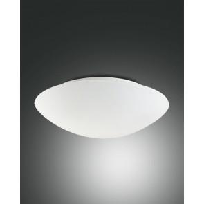 Pandora, weiß, geblasenes Glas, weiß, 2X60W