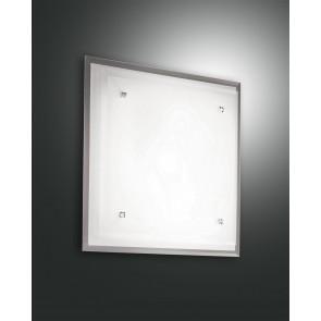 Maggie, weiß/verchromt, Glas, weiß/transparent, 1X60W