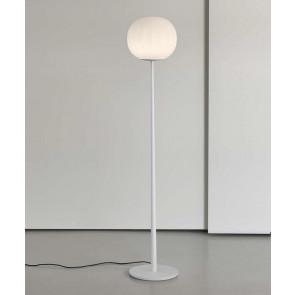 Lita Höhe 160 cm weiß 1-flammig kugelförmig