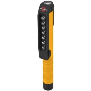 7 + 1 LED Clipleuchte HL SB 71 MC mit Clip und Magnet am Clip