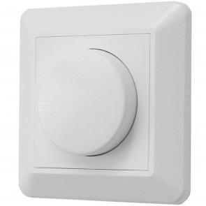 Dimmer 35 - 500 W 8,5 x 8,5 cm weiß quadratisch