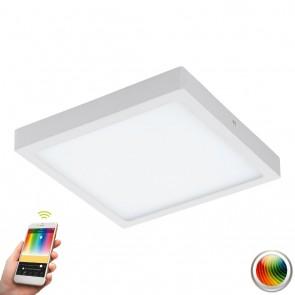 Fueva-C, LED, 30 x 30 cm, Farbwechsel, CCT, Weiß