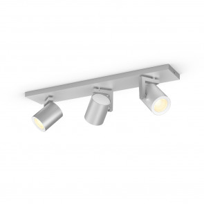 Argenta White & Color Ambiance, 3 flg., aluminium, 3x350lm, 2.000–6.500 K