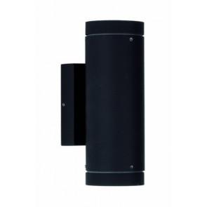 Geralde, GU10, IP54, 2-flammig, schwarz