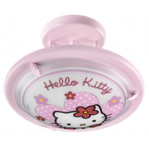 Hello Kitty, Ø 35 cm, Rosa