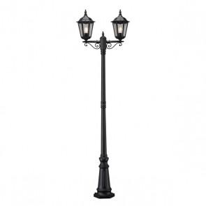 Firenze, E27, IP43, 2-flammig, Höhe 220 cm, dimmbar, schwarz