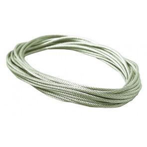 Wire System Light&Easy Spannseil Länge 10 M silber rund