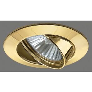 Premium Line Halogen, 230 V, GU10, schwenkbar, Gold, 1x50 W