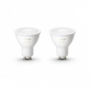 GU10 White Ambiance, 2er Erweiterung, 350 lm, 2.200-6.500 K