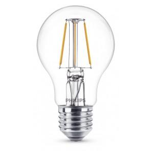 LED Classic E27 (A60) 4W (ersetzt 40W), 470lm, warmweiß 2700K, klar