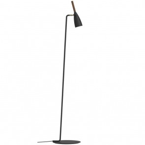Pure, GU10, Höhe 149,5 cm, schwarz