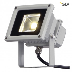 LED OUTDOOR BEAM, silbergrau, 10W, warmweiss, 100°, IP65
