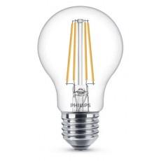 LED E27, 7,0W (ersetzt 60W), warmweiß, klar, nicht dimmbar