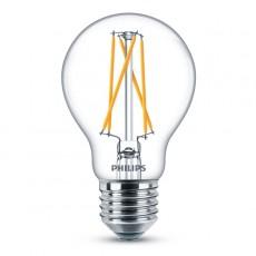 LED E27, 8,5W (ersetzt 60W), warmweiß, klar, dimmbar